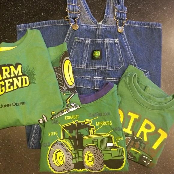 ed84364f1 John Deere Shirts & Tops | Lot Of 3t Toddler Clothes | Poshmark